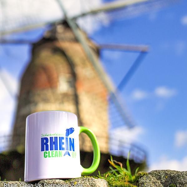 Unsere Tasse vor der Zonser Mühle