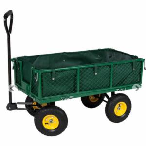 Bollerwagen für den Transport des Mülls