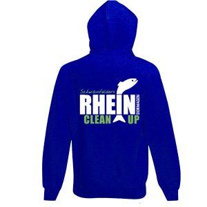 Hoody mit Rhein Clean Up Dormagen Logo